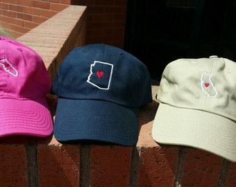 State Love Hat