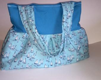 """Shoulder bag """"Sea"""""""