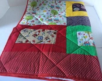 Playmat child quilt patchwork quilt baby blanket gift