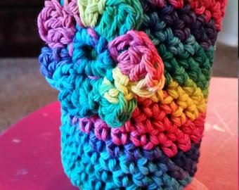 Multi color can cozy