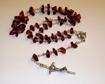 Rosary Natural Baltic Amber