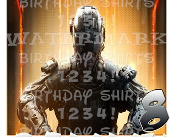 CALL OF DUTY Birthday Shirt