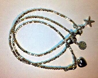 Silver Seed Bracelet