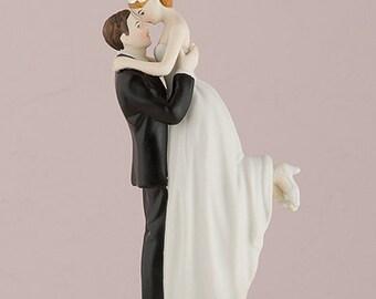 Cake topper - Cake topper romanticissima con personalizzazione