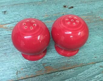 Fiesta ware Salt & Pepper Shaker Set