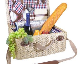 Picasso Deluxe Two Person Insulated Picnic Basket