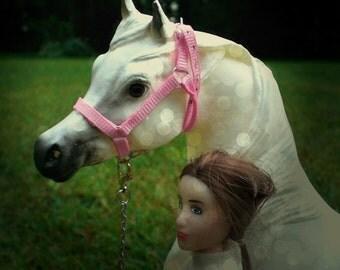 Custom Breyer horse halter