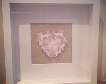 Handcrafted Butterfly Frame
