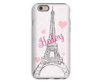 Eiffel Tower iPhone 7 case, Paris iPhone 7 Plus case, iPhone SE case, iPhone cases for girls, iPhone 6s Plus case/6s case, 3D iPhone case