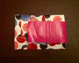 Polka Dot Pocket Pouch