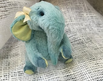 Tiny handmade Elephant-girl