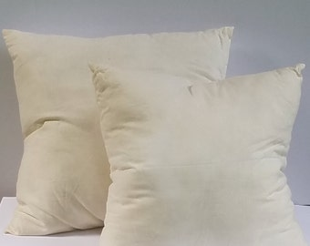 Indoor Pillow Insert, Pillow Form, Down Alternative