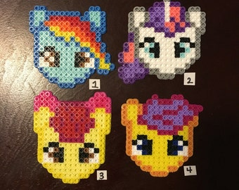 Perler bead magnets