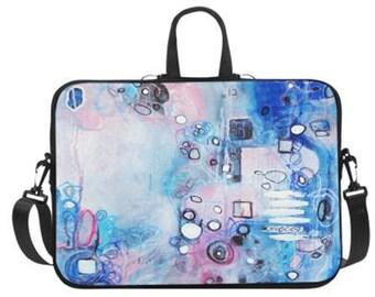 """Bubble Bath Laptop Bag 17"""" or 14"""""""