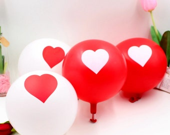 100pcs /lot 12-inch lot of love pearl latex balloon air balls inflatable floating toys birthday wedding Christmas decoration
