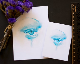 Watercolour Art Print - Melancholia