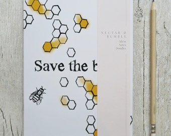 Save the Bees Notebook
