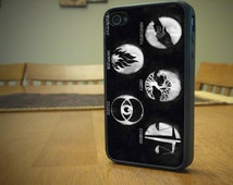 Divergent Case for iPhone 4/4s, 5/5s, 6/6s, 6/6s Plus, SE and Samsung S3 and S4