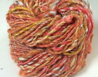 Salmon Treat - 54m, 48g (wool, bamboo, stellina)