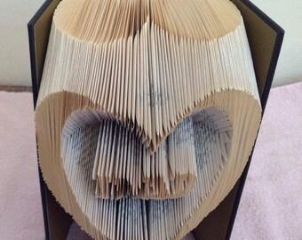 Book Folding Art - Dad