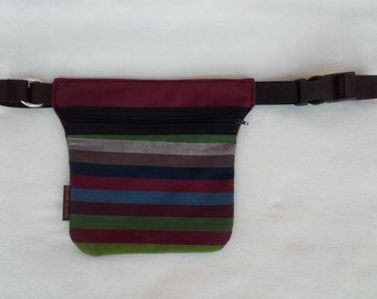 Fanny Pack multi-colored stripes