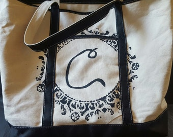"22"" Heavy Duty Canvas Tote"