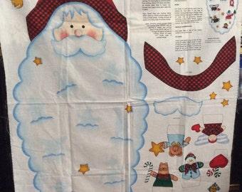 Santa Face Door Panel by Daisy Kingdom