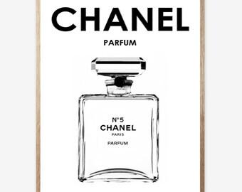 Chanel, Chanel print, Fashion art, Pink chanel, Digital Print, Modern Art, Minimalist, Digital art, Printable, Digital Instant Download16x20