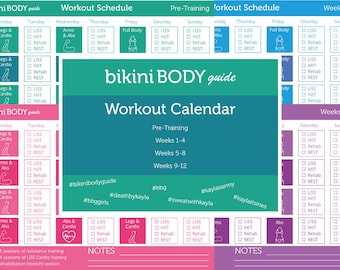 Bikini Body Guide Workout Calendar