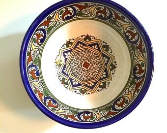 Medium Ceramic Salad Bowl