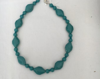 Necklace - Aqua