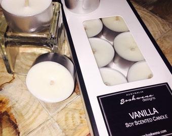 Vanilla Tealights - 10pk