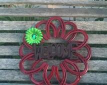 Horse shoe Wreath!