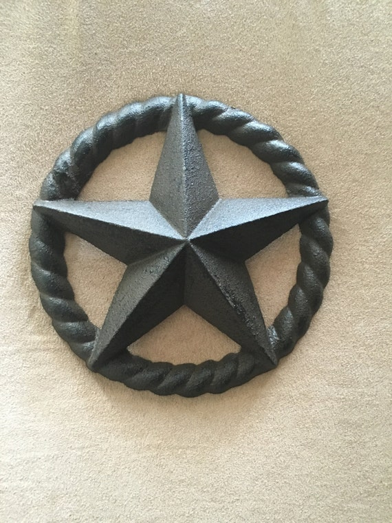 Decorative metal lone star wall art wall decor by for Lone star home decor
