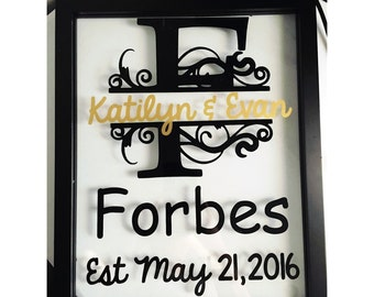Personalized Floating Frame