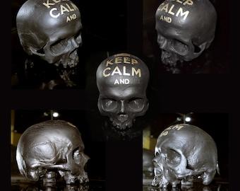 "Skulls on demand ""Keep Calm &"""