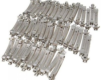 50 Pieces Hair barrette clips 50mm