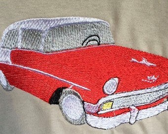 Embroidered 56 Chevy Shirt