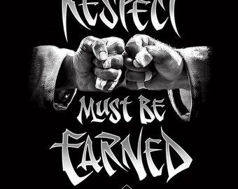 Respect, Men's Tee, BJJ, Jiu Jitsu