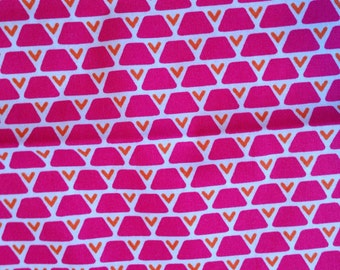 Pink and Orange Triangles
