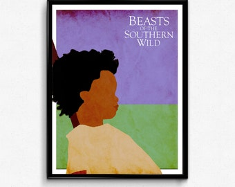 Beasts of the Southern Wild Poster, Hush Puppy Minimalist Print