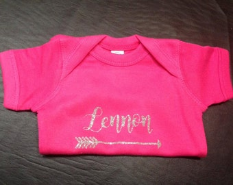 Personalized Infant Onesie