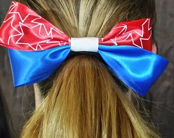 Red White and Blue bow
