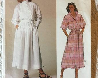 Vogue 1980's Ralph Lauren Vintage Designer Sewing Pattern 1548
