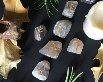 Runic Cross Reading by The Elemental Emporium  - RUNIC DIVINATION