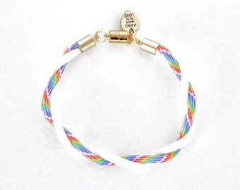 Pride Twist Bracelet (Gold)