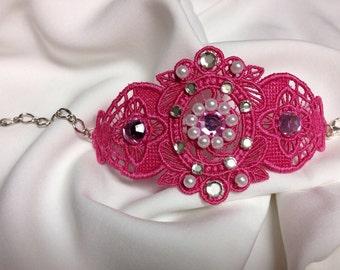 """Bracelet """"Pink"""""""