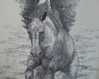 Horse with Wings Cross Stitch