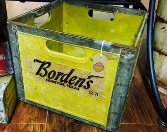 Borden Milk Crate