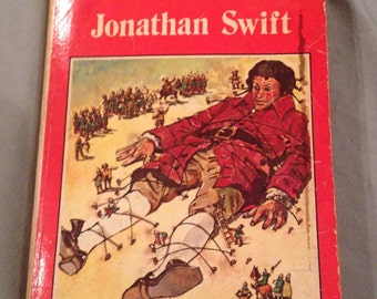 Vintage Gulliver's Travels book 1983 jonathon swift watermill classic
